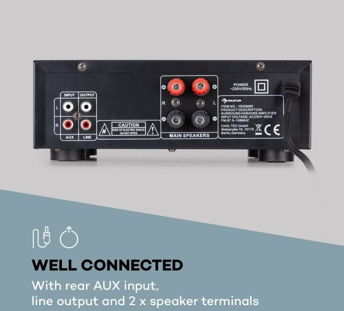 Auna Amp EQ BT (JO2_AMP-EQ-BT)