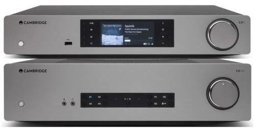 Cambridge Audio CXA61 + CXN v2