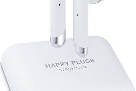 Happy Plugs Air 1 Plus Białe