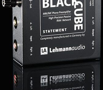Lehmannaudio Black Cube Statement