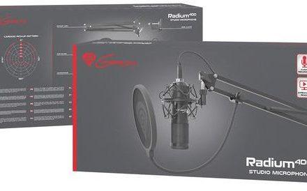 NATEC Mikrofon Genesis Radium 400 studyjny USB NGM-1377