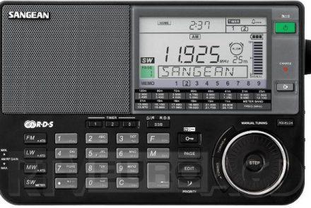 Sangean ATS-909X Czarny