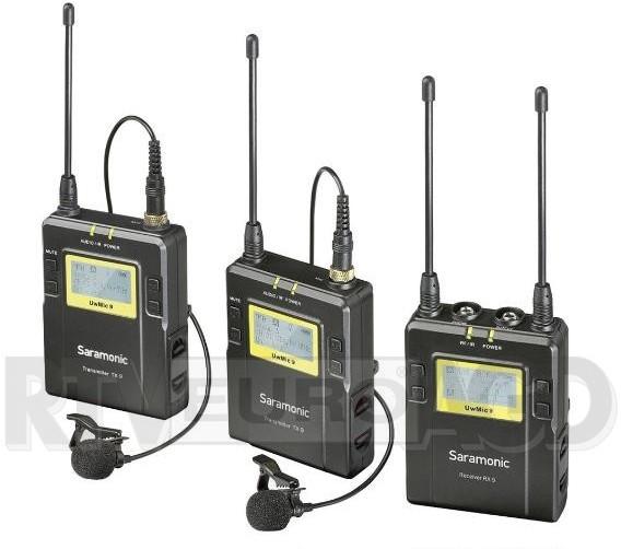 Saramonic Zestaw bezprzewodowy UWMIC9 RX9+TX9+TX9