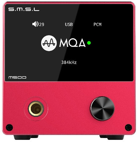 SMSL M500 czerwony