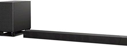 Sony HT-ST5000Soundbar z jego Dolby Atmos Hi/RES Wireless Audio 4K 800W Czarny HTST5000.CEL