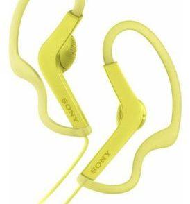 Sony MDRAS210Y żółte