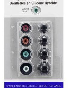Sony Wkładki douszne Czarne EPEX10AB.AE