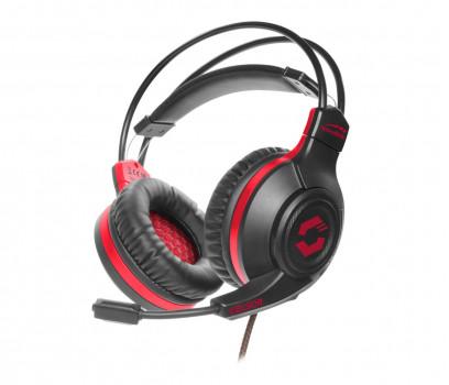 Speed Link CELSOR czarno-czerwone (SL-860011-BK)