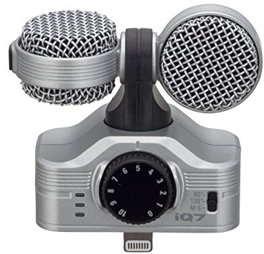 Zoom iQ7 MS Stereo mikrofon do urządzeń Apple iPhone/ iPad n / a