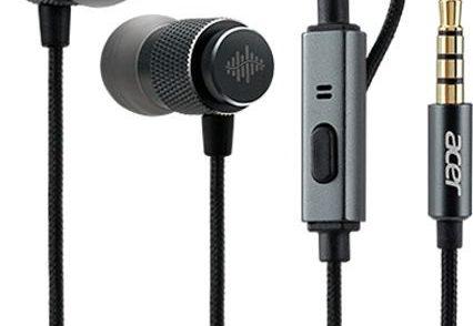 Acer Słuchawki E300 Headset EP1 In-Ear TrueHarmony Silver (NP.HDS1A.005)