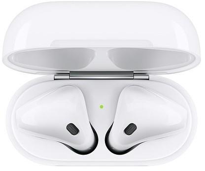 Apple AirPods (2-generacji) Słuchawki bezprzewodowe z etui ładującym MV7N2ZM/A