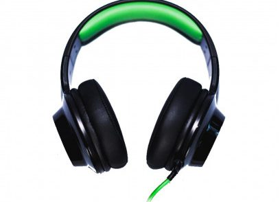 Edifier V4 Stereo czarno-zielone