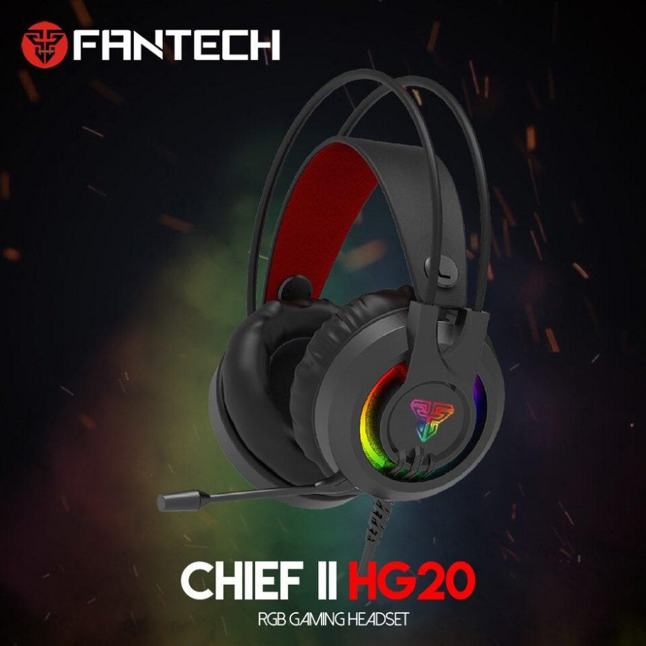 FANTECH HG20 Czarne (HG20-42296)