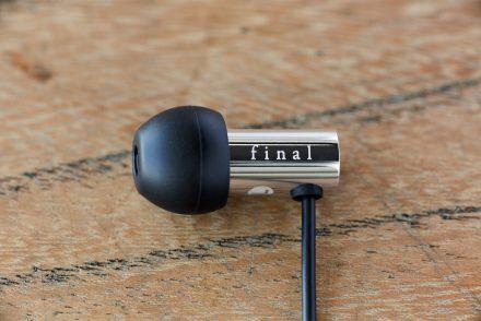 Final Audio Design E3000 czarno-srebrne