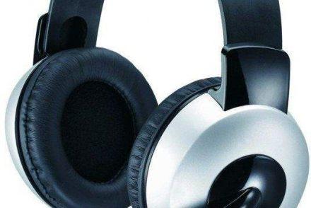 Genius HS-05A czarno-srebrne