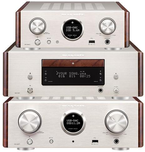 Marantz HD-AMP1 + HD-CD1 + HD-DAC1