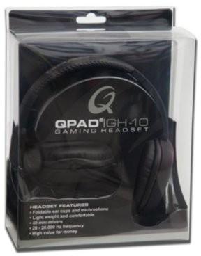 Qpad GH-10 czarne