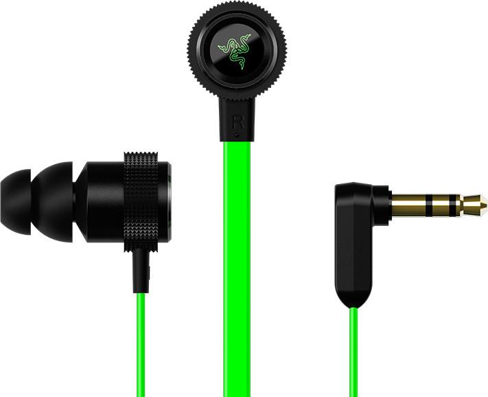 Razer Hammerhead Pro V2 Czarno-zielone