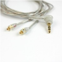 Shure EAC 64CL 64 kabel wymienny 1/8 TRS M/F przeźroczysty do SE215 SE315 SE425 SE535