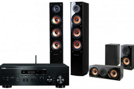 Yamaha MusicCast R-N402D + kolumny Nova 8