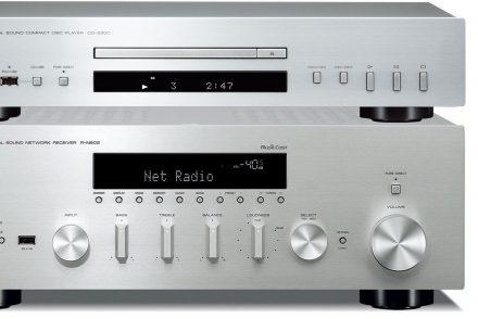 Yamaha R-N602 + CD-S300