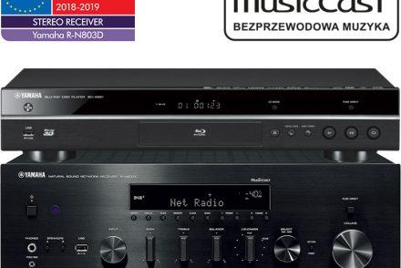 Yamaha R-N803D + BD-S681