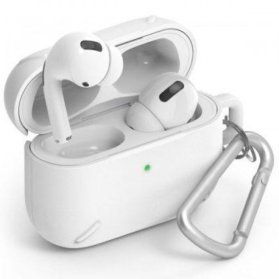 Apple Rearth Etui Ringke Layered Case AirPods Pro, białe 8809688896637