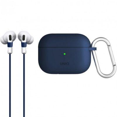 Apple UNIQ Etui Uniq Vencer AirPods Pro, niebieskie 8886463672891