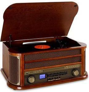 Auna Belle Epoque 1908 Retro-Stereoanlage (AH59-02710A)