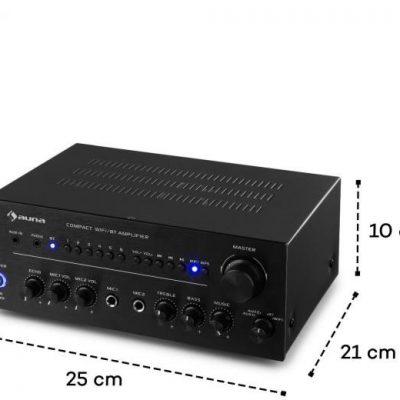 Auna Intelligence Amp Czarny (CE-AV6-0003)