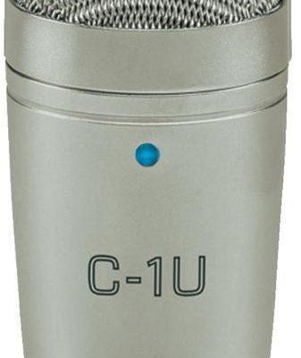 Behringer Mikrofon studyjny USB C-1U Komunikacja z klipsem z kablem 16590