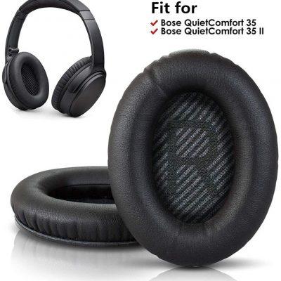 BOSE Wymienne nauszniki do QC35 do słuchawek QuietComfort 35 i 35 ii z pianki Memory poduszki na