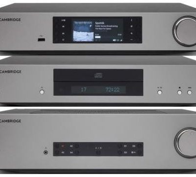 Cambridge Audio CXA81 + CXC v2 + CXN v2