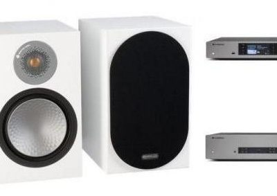 Cambridge Audio CXA81 + CXN v2 + MONITOR AUDIO SILVER 100 W