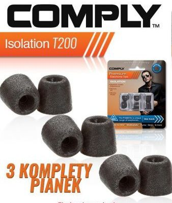 Comply Pianki Isolation Series T200 Isolation Series T200