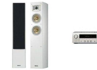 Denon DRA-800H S + YAMAHA NS-F330 W