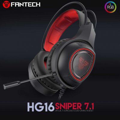 FANTECH HG16 SNIPER Czarno-Czerwone (HG16-42295)
