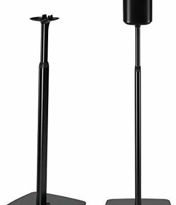 Flexson regulowane stojak podłogowy do Sonos One i Play czarny FLXS1AFS2021