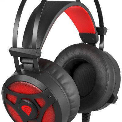GENESIS Neon 360 czarno-czerwone