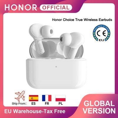 HONOR Globalna wersja Choice prawdziwe bezprzewodowe wkładki douszne TWS bezprzewodowe słuchawki