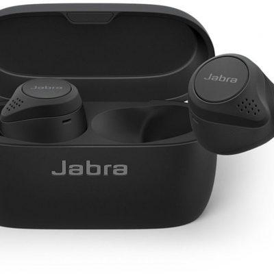 Jabra elite 75t czarne (100-99090001-60)