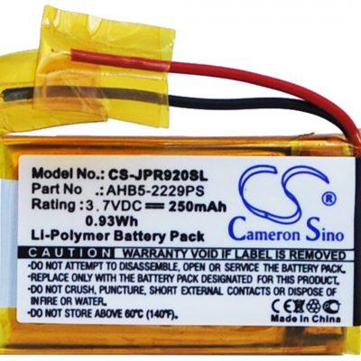 Jabra Pro 900 / AHB5-2229PS 250mAh 0.93Wh Li-Polymer 3.7V (Cameron Sino) (WH-H800B)
