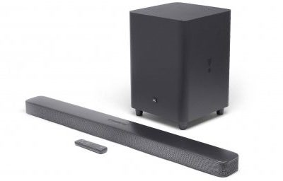 JBL Bar 5.1 (XLO U6 - single wire - banany)
