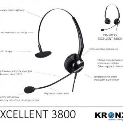 Kronx 3800 excellent Czarne