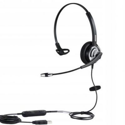 Kronx KX-8005u słuchawki z mikrofonem Call Center