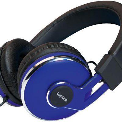 LogiLink HS0040 niebieskie