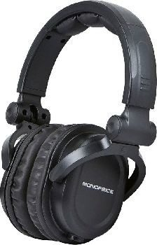 Monoprice Premium Hi-Fi DJ Style Pro Czarne