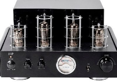 Monoprice Stereo Hybrid Tube Amplifier with Bluetooth & Line Output