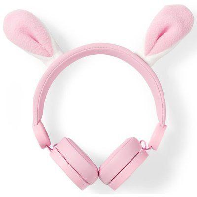 Nedis Robby Rabbit Różowe