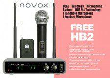 Novox Free HB2 zestaw bezprzewodowy NOVFRHB2